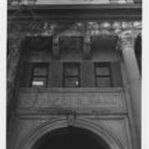 Cranford Hall, entrance