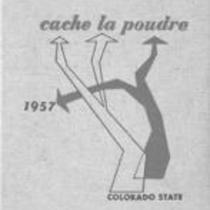 Cache la Poudre yearbook 1957