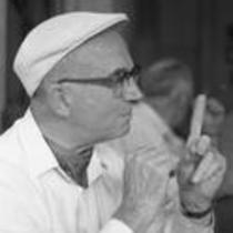 James A. Michener at Plaza Mayor