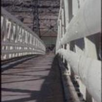 Footbridge spanning the Colorado River