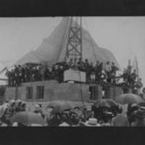 Laying of the cornerstone, June 13, 1890