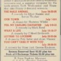 Summer 1942 Flyer