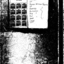 George Willard Frasier diaries, 1938