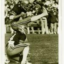 Kevin Jelden, University of Northern Colorado football, ca 1982.