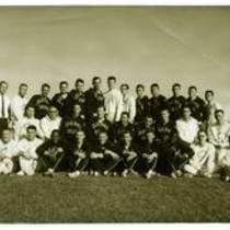 Colorado State College track team photo, ca, 1960s.