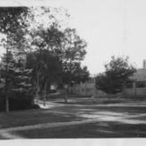 Student Union exterior, 1939