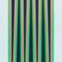 Untitled (Elongated Triangles) by Bridget Riley