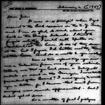 1947-02-02 Letter from Mary Sullivan Patterson to James A. Michener
