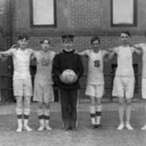 Men's basketball team of 1908, State Normal School