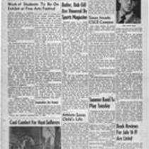 Summer edition : Number 5 : July 13, 1956