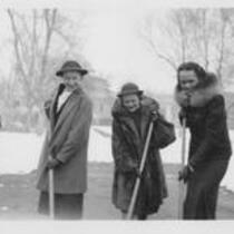 Student Union ground breaking, 1938