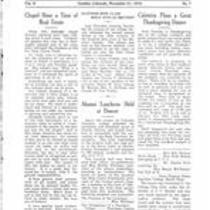 Volume 2, Number 7: November 21, 1919