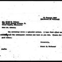 1947-01-21 Letter from James A. Michener to David M. Libera