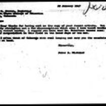 1947-01-29 Letter from James A. Michener to Roy Garson