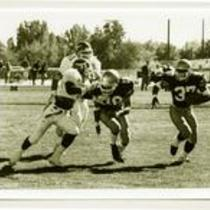 University of Northern Colorado football action shot, 1995.
