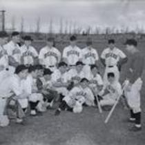 Colorado State College of Education baseball team, ca. 1940s.