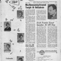 Volume 43, Number 6 : October 21, 1960