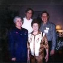 Ted Fisher, Maxine Fisher, Sam Froher, and Kit Froher, Nashville Convention, 1995