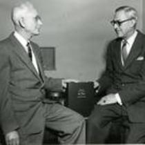 President George Frasier and Roy Carson