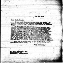 1946-05-24 Letter from Michener to Uncle Frank