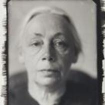Kollwitz Portrait by Lotte Jacobi