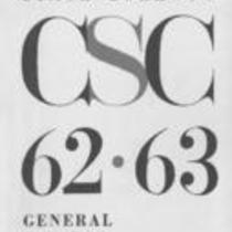 Colorado State College bulletin, series 62, number 3: 1962-63 general catalog