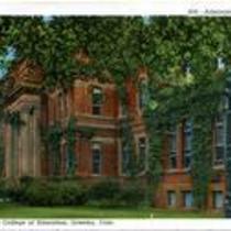 Administration Building, Colorado State College of Education, Greeley, Colo. Circa 1935.