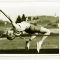 High jumper, University of Northern Colorado, 1993