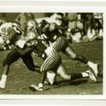 University of Northern Colorado football action shot, 1993.
