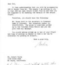Nadia Orapchuck to Robert Vavra, February 9, 1976