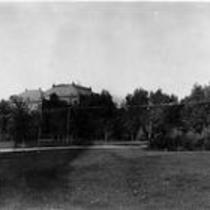 Lawn adjacent to Cranford Hall, State Normal School campus