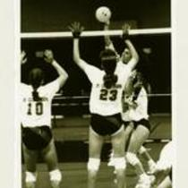 University of Northern Colorado vs. St. Cloud State volleyball game, 1993