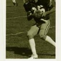 Unidentified player, University of Northern Colorado football, ca. 1980s.