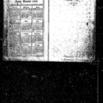 George Willard Frasier diaries, 1940