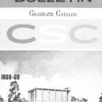 Colorado State College bulletin, series 68, number 3: 1968-69 graduate catalog