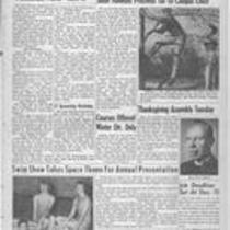 Volume XXXIX, Number 9 : November 16, 1956