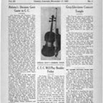 Volume 3, Number 5: November 17,1920