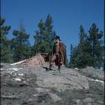 """Gentleman"" John Kings, Estes Park, Colorado, 1978"