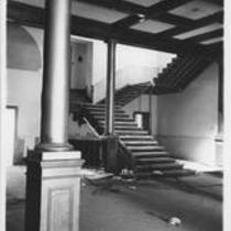 Demolition of Cranford Hall, 1972