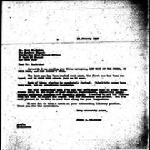 1947-01-31 Letter from James A. Michener to Burt MacBride