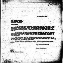 1946-09-03 Letter from James A. Michener to Mr. Floyd Merrill