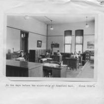 Cranford Hall interior