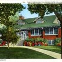 The Club House, Colorado State College of Education Greeley, Colorado. Circa 1935-1957.