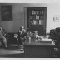 Cranford Hall interior office