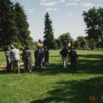 Groundbreaking for Skinner Music Library, 1996