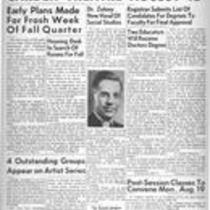 Summer edition : August 9, 1946