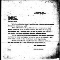 1947-01-30 Letter from James A. Michener to Matt Wells