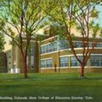 Library Building, Colorado State College of Education, Greeley, Colo. Circa 1935-1944.