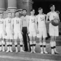 Men's basketball team of 1907, State Normal School