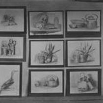 Still-life drawings on display, State Normal School campus